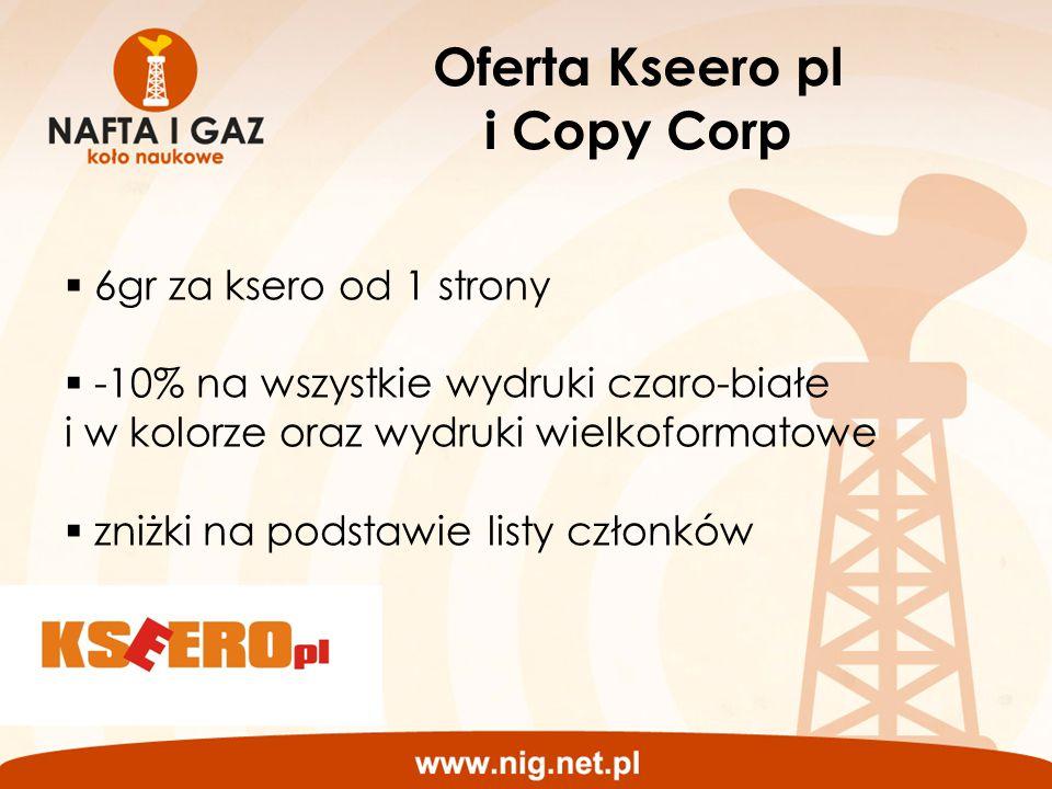 Oferta Kseero pl i Copy Corp