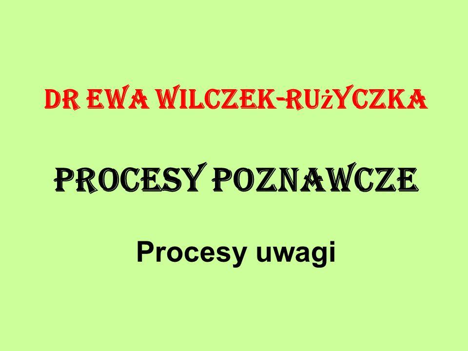 Dr Ewa Wilczek-Rużyczka