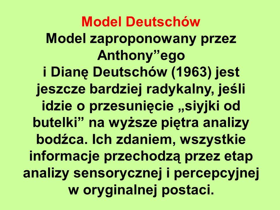 Model zaproponowany przez Anthony ego