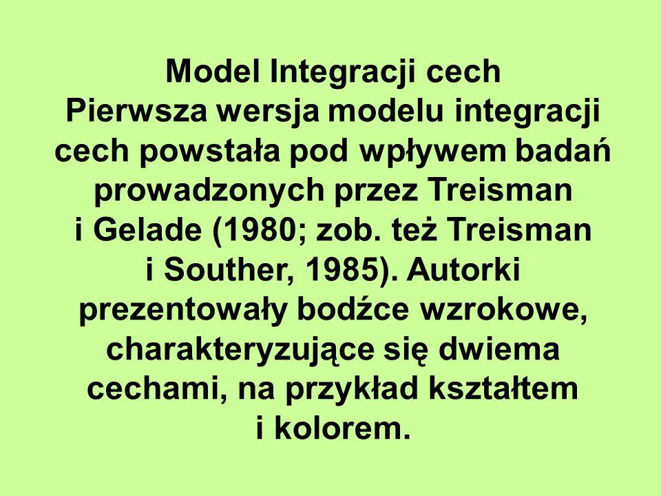 i Gelade (1980; zob. też Treisman