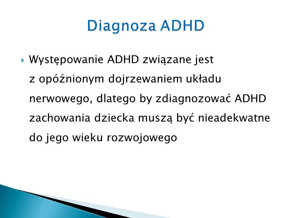 Diagnoza ADHD