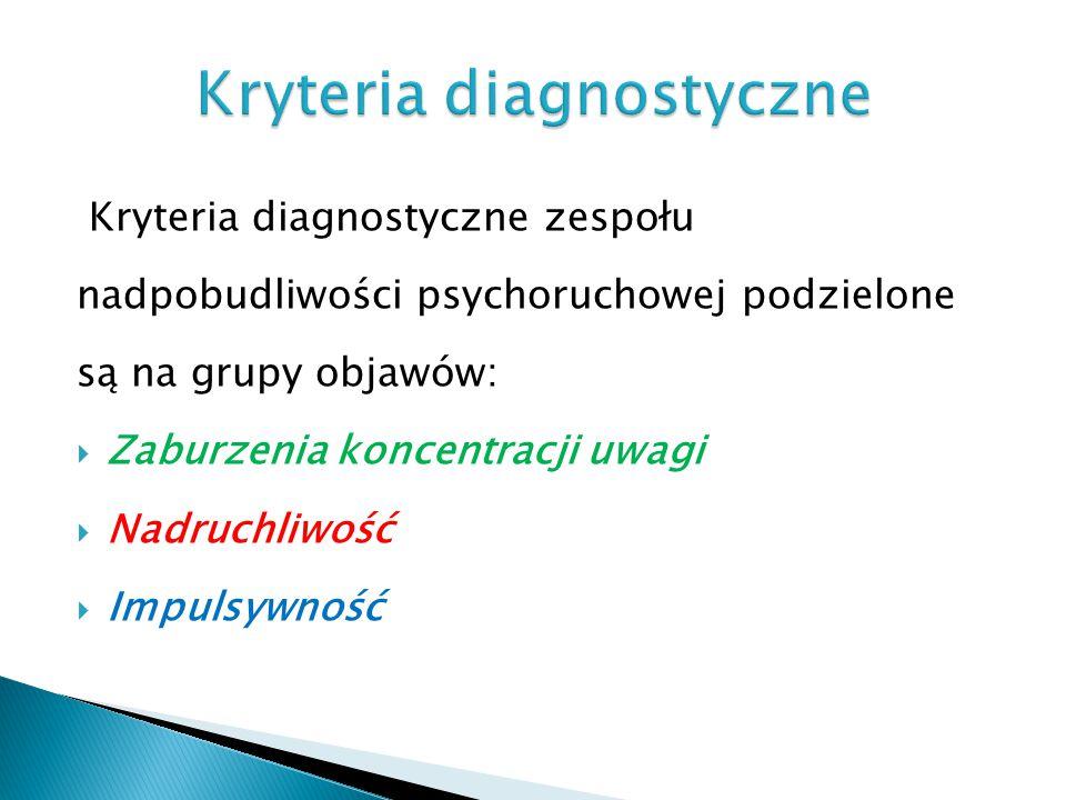Kryteria diagnostyczne