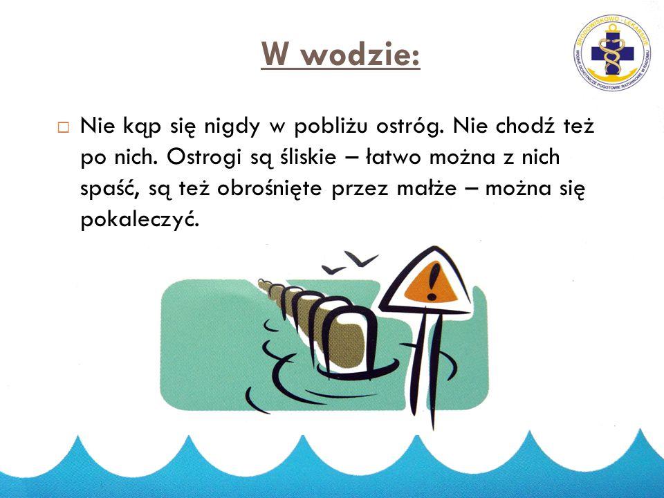 W wodzie: