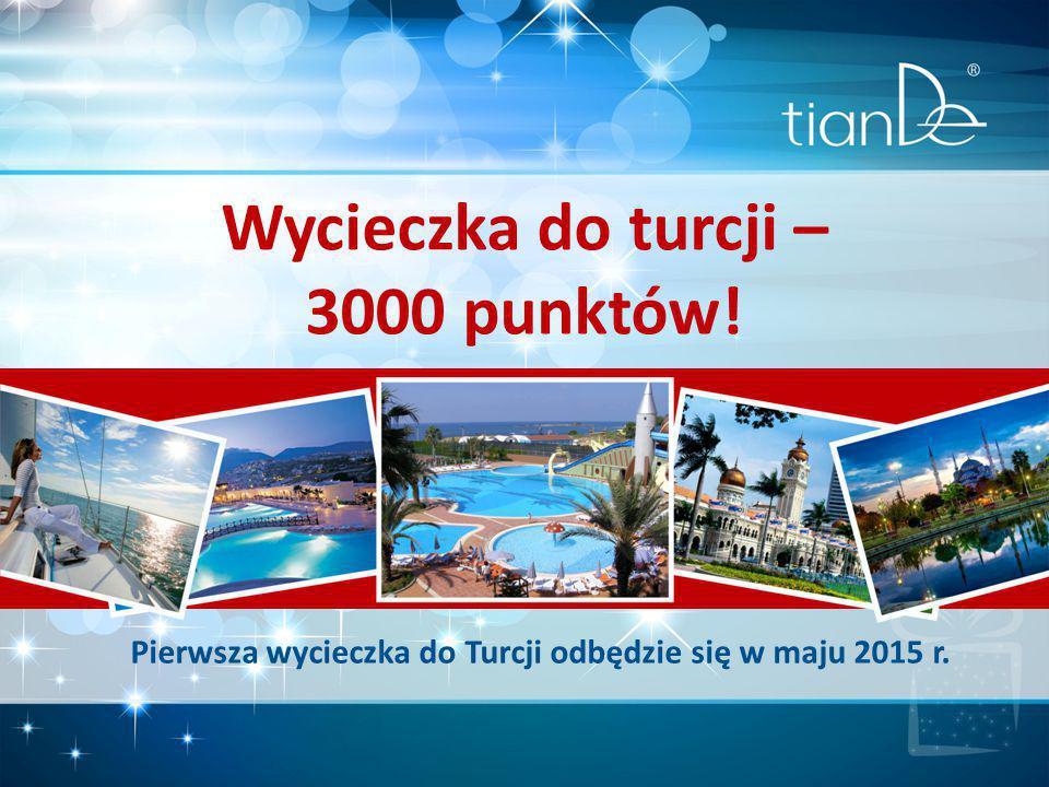 Pierwsza wycieczka do Turcji odbędzie się w maju 2015 r.