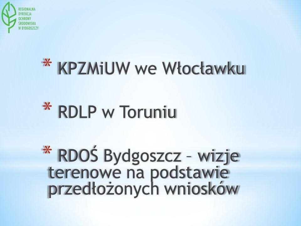 KPZMiUW we Włocławku RDLP w Toruniu.