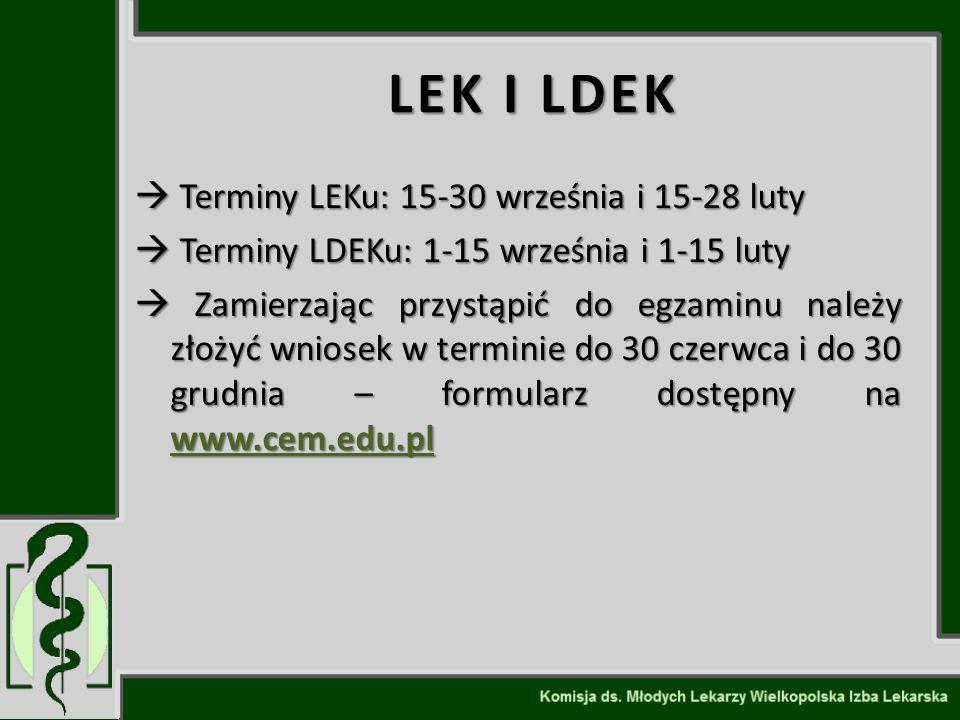 Kariera lekarza Lek. Marcin Żytkiewicz. LEK I LDEK.