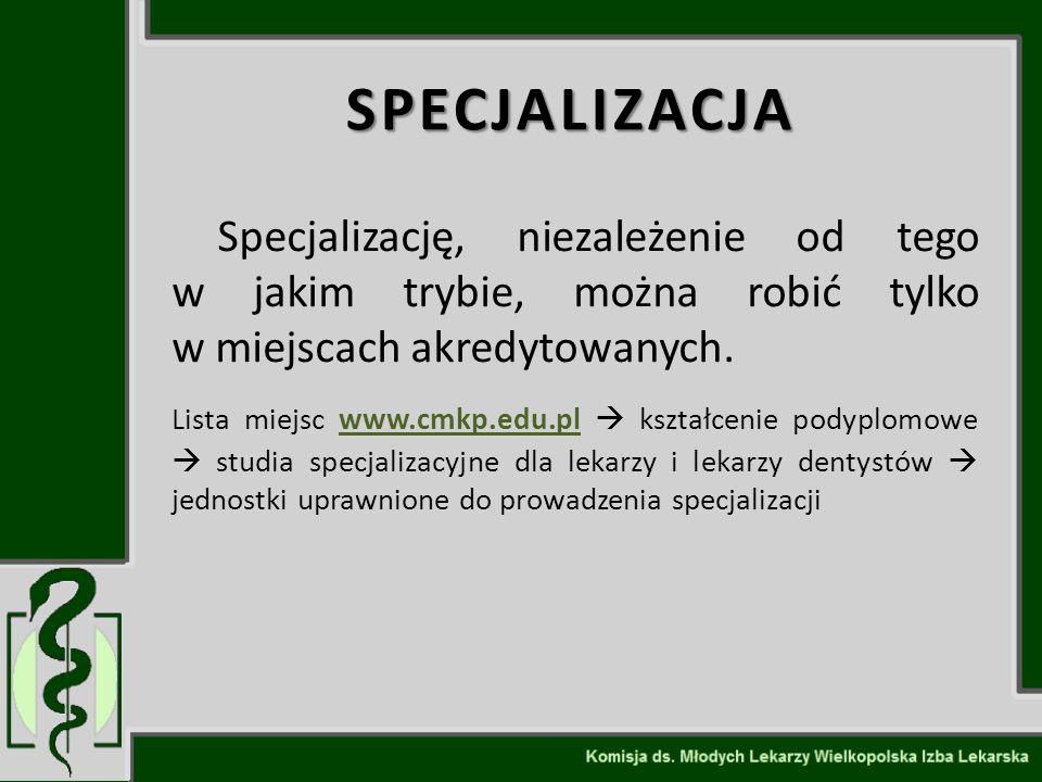 SPECJALIZACJA