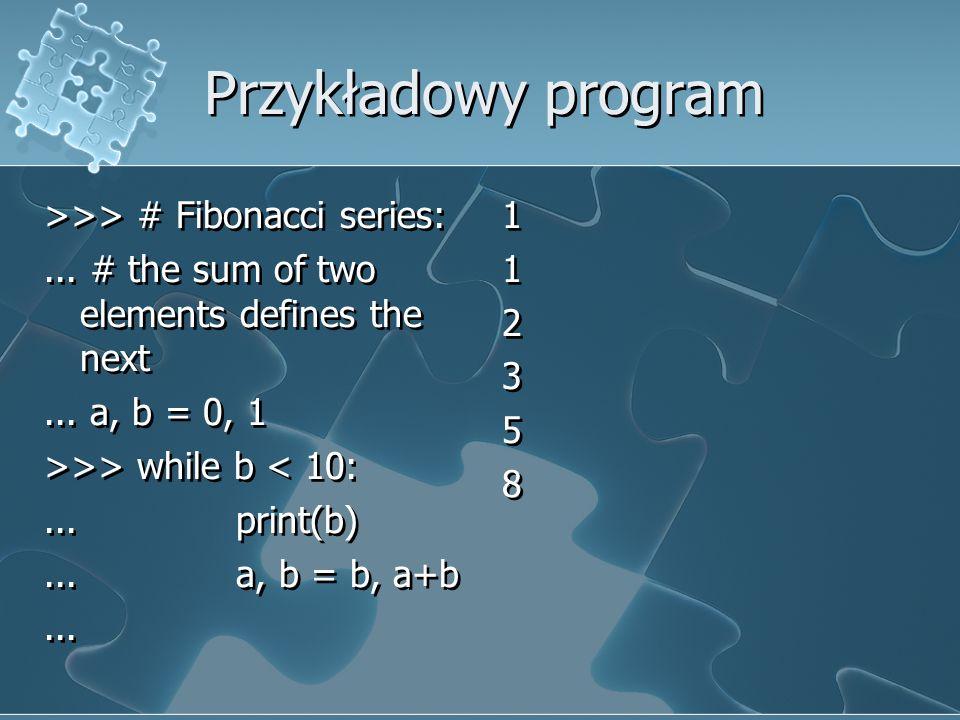 Przykładowy program