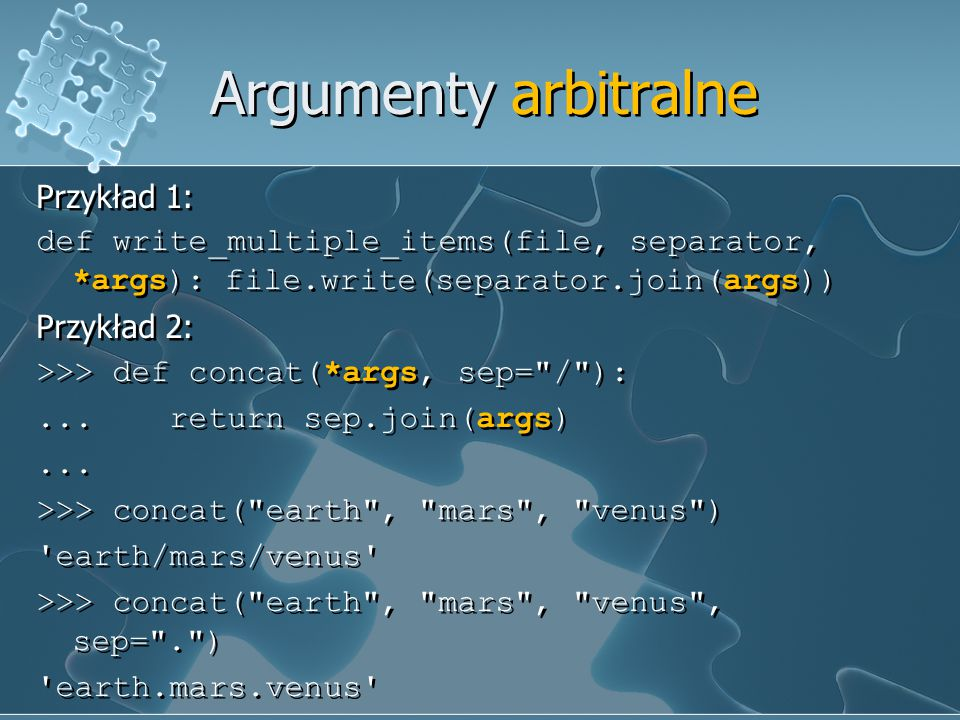 Argumenty arbitralne