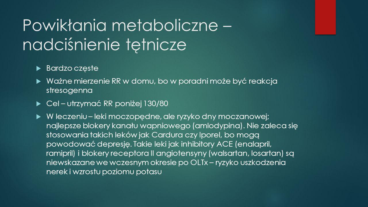 Powikłania metaboliczne – nadciśnienie tętnicze