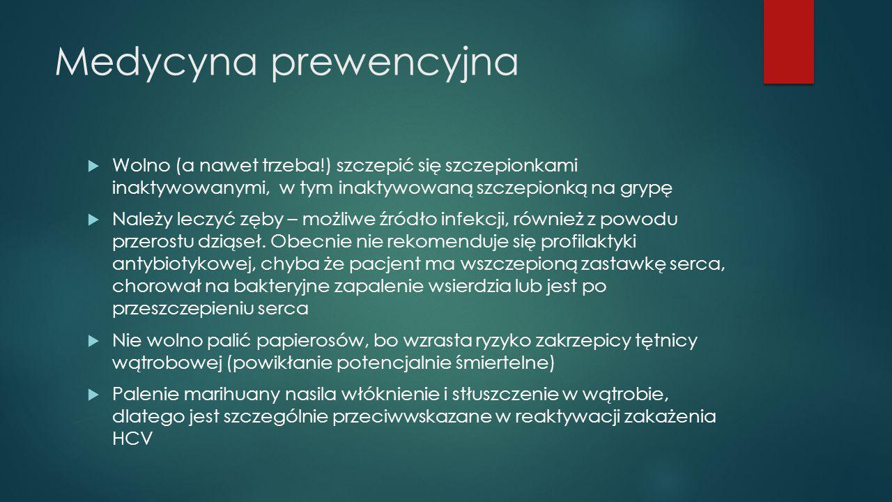 Medycyna prewencyjna Wolno (a nawet trzeba!) szczepić się szczepionkami inaktywowanymi, w tym inaktywowaną szczepionką na grypę.