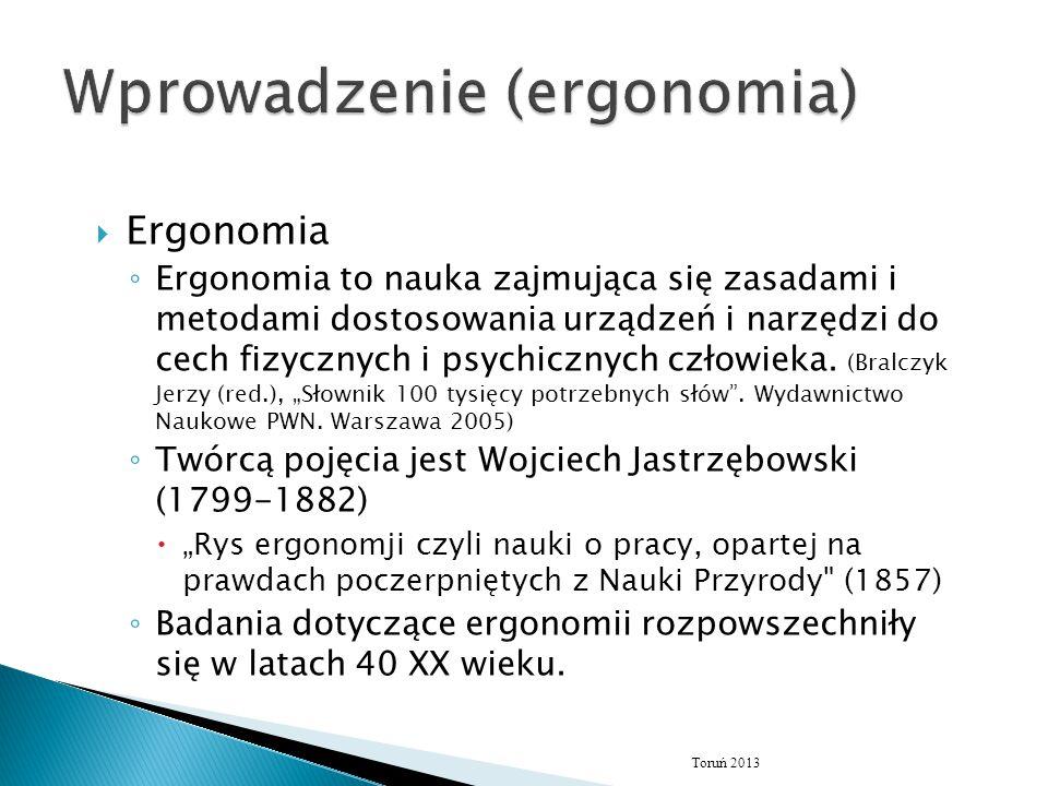 Wprowadzenie (ergonomia)