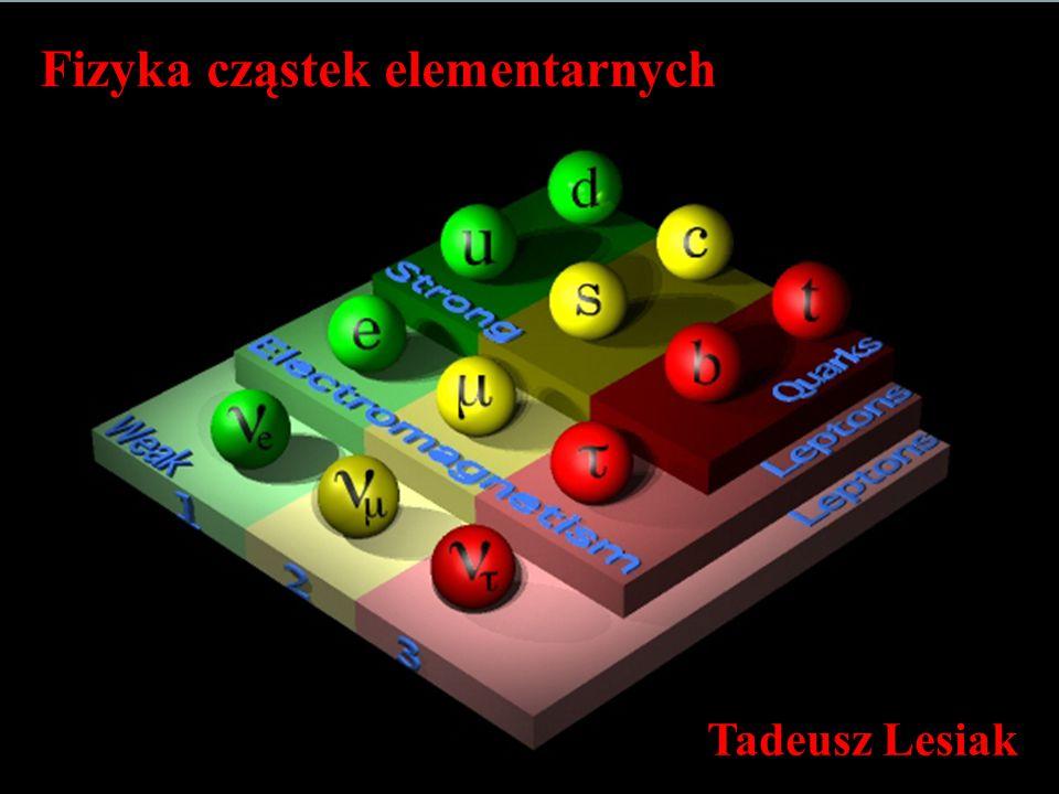 Fizyka cząstek elementarnych