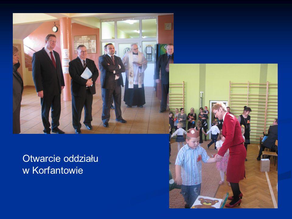 Otwarcie oddziału w Korfantowie