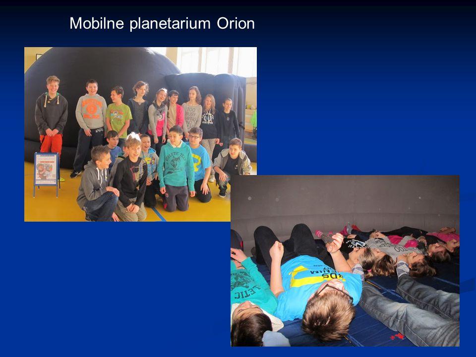 Mobilne planetarium Orion