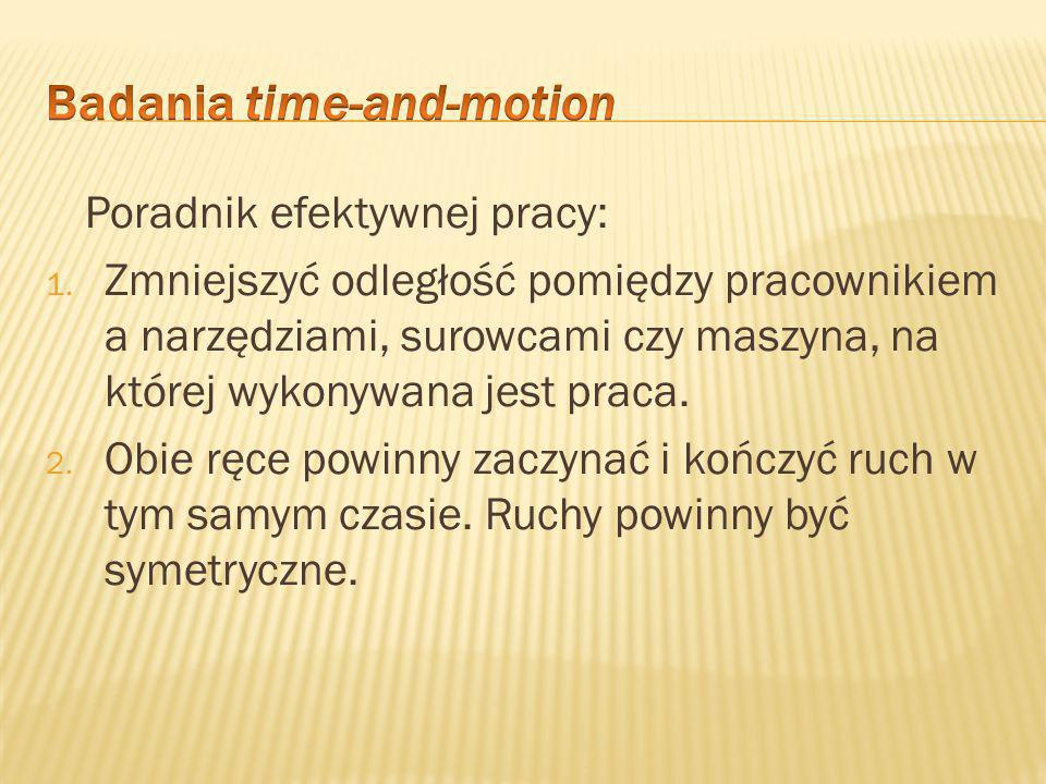 Badania time-and-motion