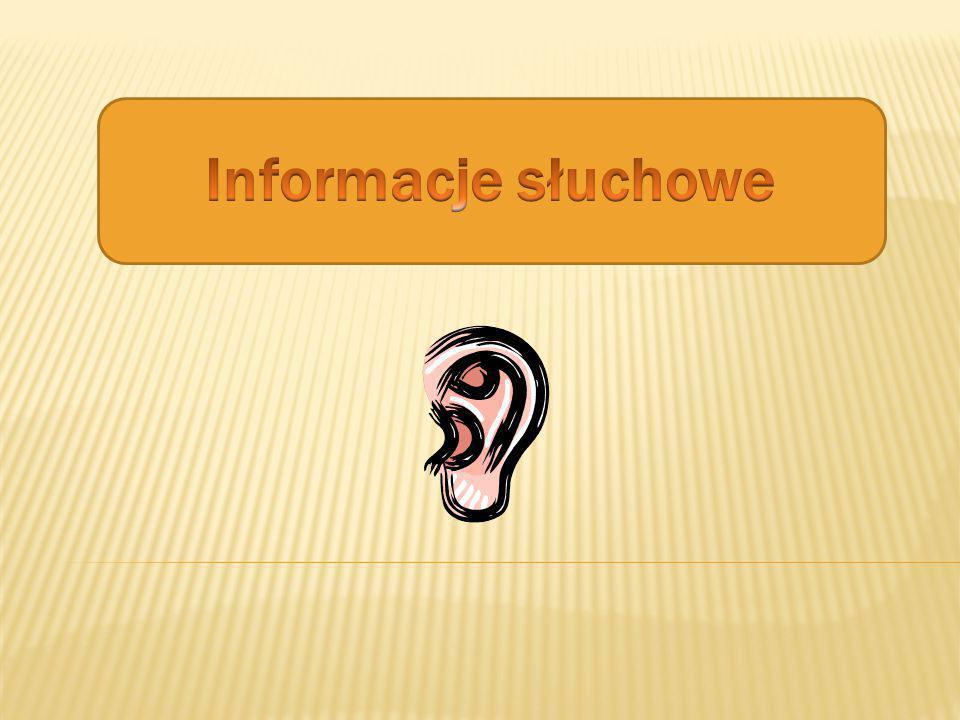 Informacje słuchowe