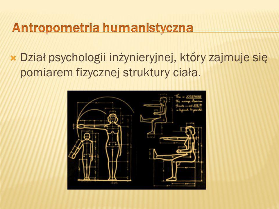 Antropometria humanistyczna