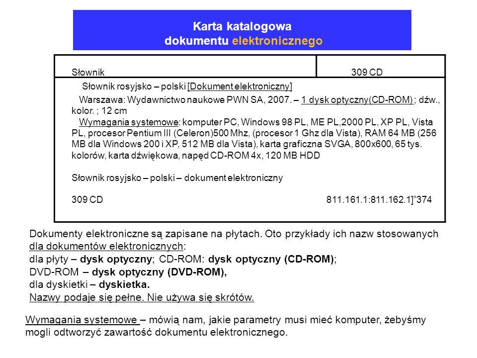 dokumentu elektronicznego