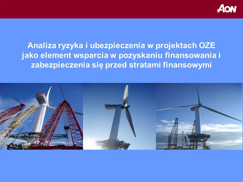 Analiza ryzyka i ubezpieczenia w projektach OZE jako element wsparcia w pozyskaniu finansowania i zabezpieczenia się przed stratami finansowymi