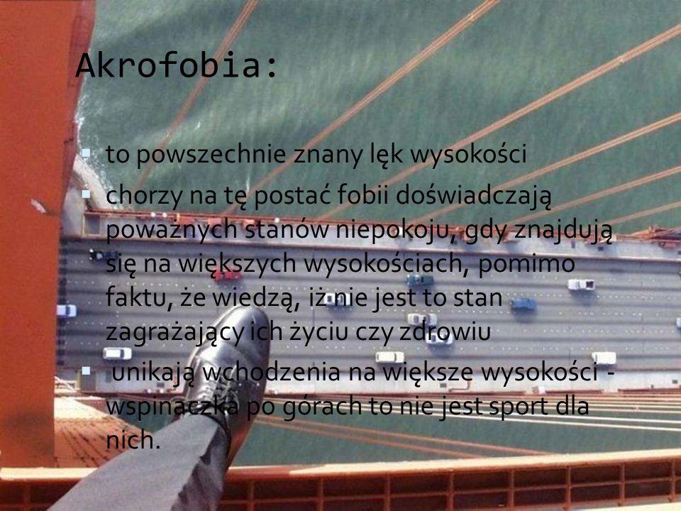 Akrofobia: to powszechnie znany lęk wysokości
