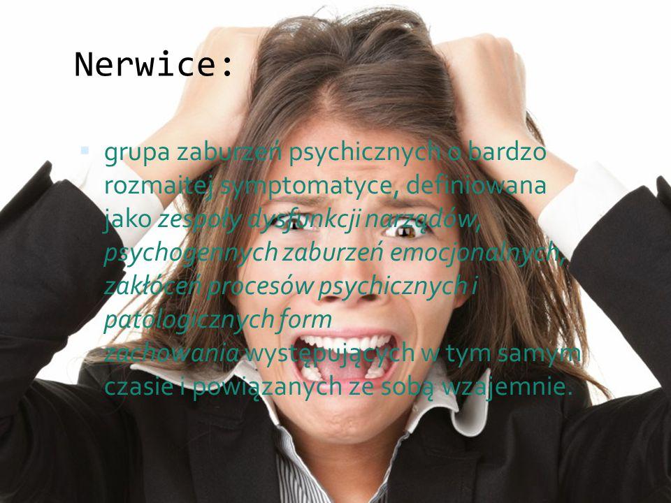 Nerwice:
