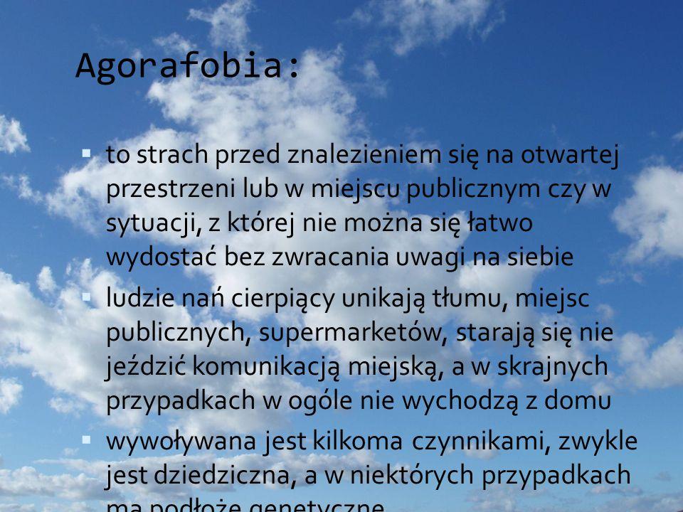 Agorafobia: