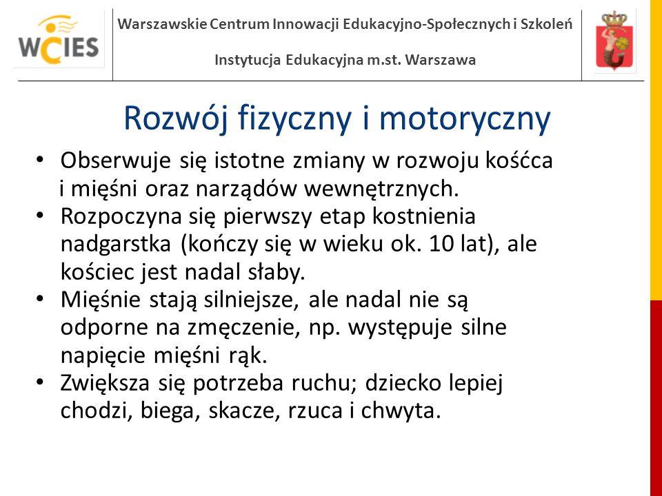 Rozwój fizyczny i motoryczny
