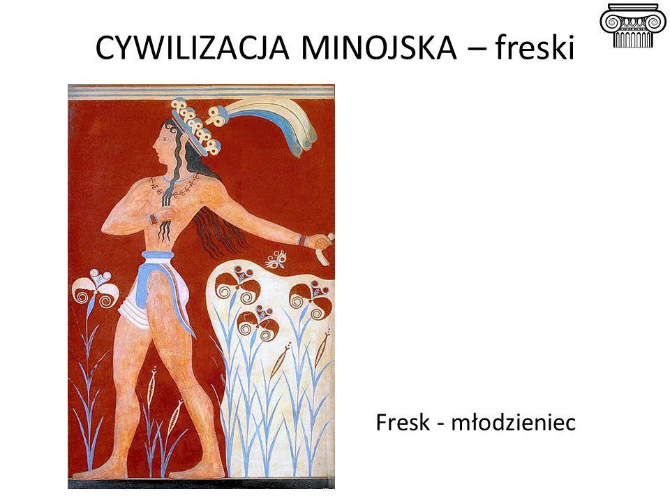 CYWILIZACJA MINOJSKA – freski