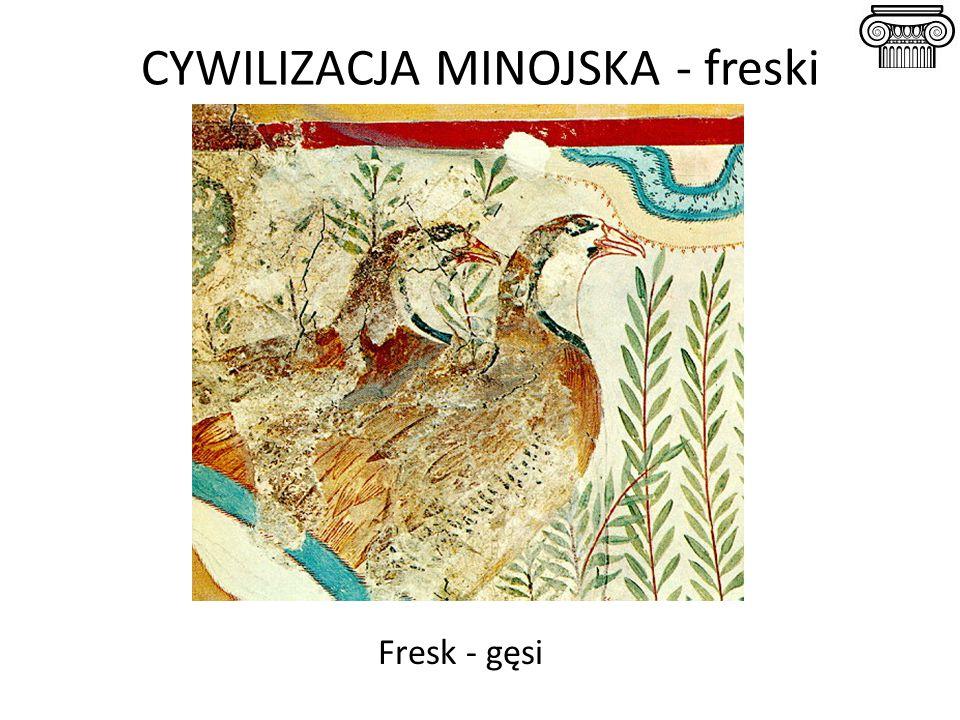 CYWILIZACJA MINOJSKA - freski