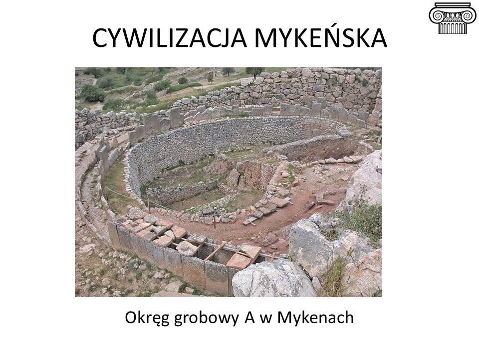 Okręg grobowy A w Mykenach
