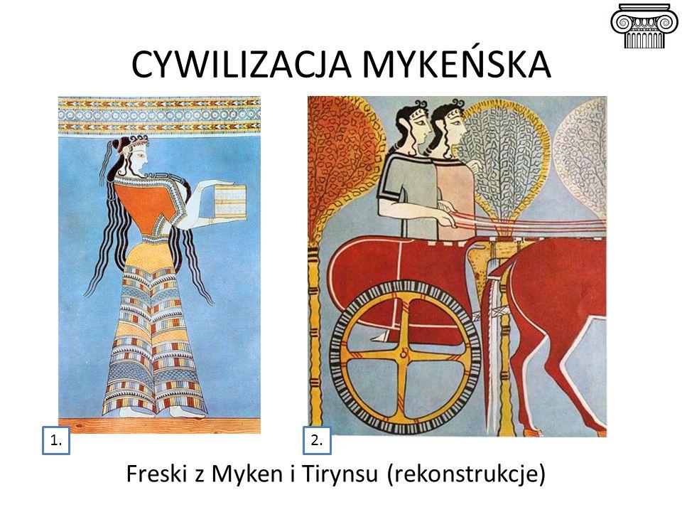 Freski z Myken i Tirynsu (rekonstrukcje)