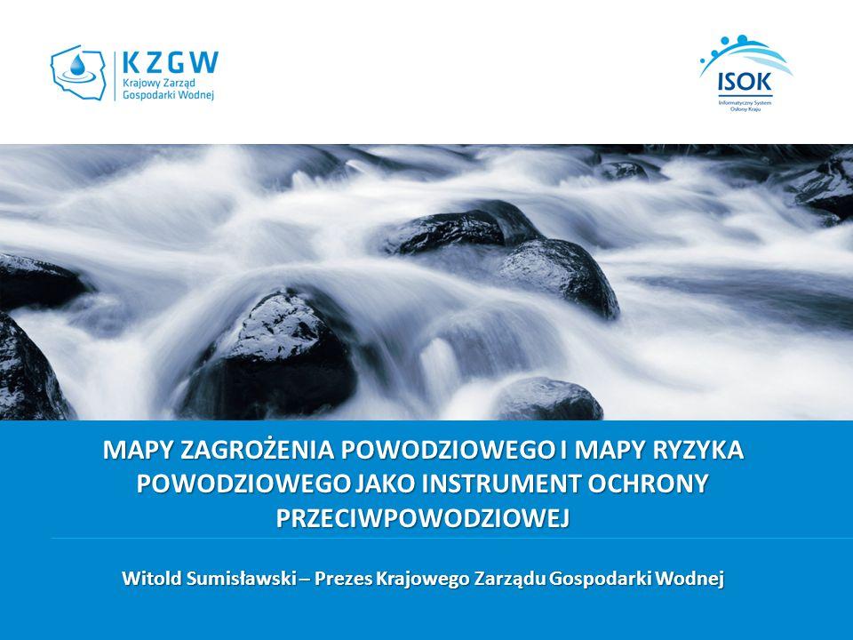 Witold Sumisławski – Prezes Krajowego Zarządu Gospodarki Wodnej