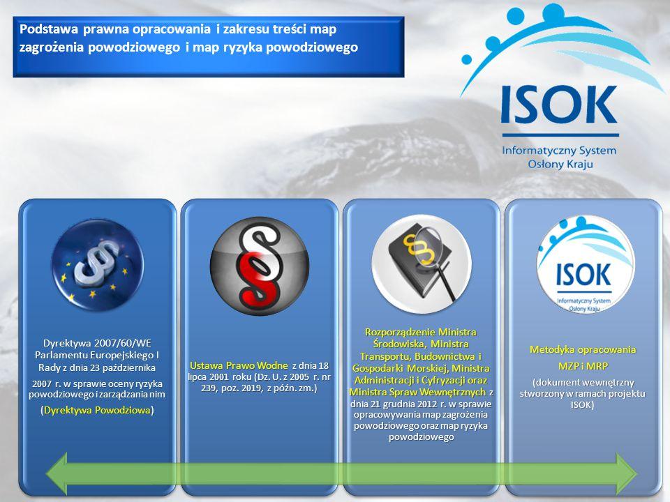 Podstawa prawna opracowania i zakresu treści map zagrożenia powodziowego i map ryzyka powodziowego