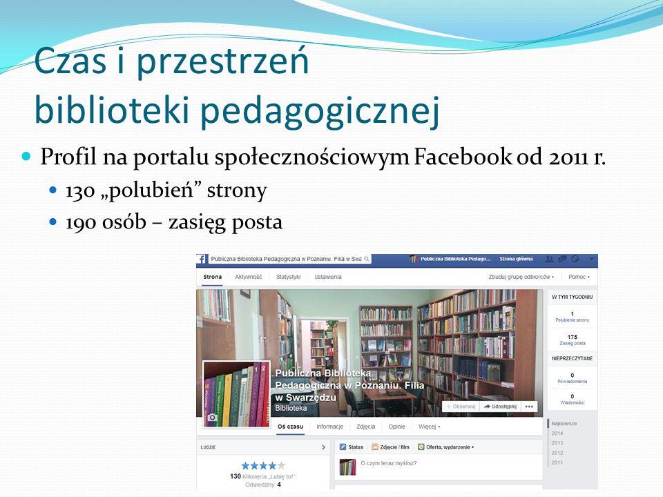 Czas i przestrzeń biblioteki pedagogicznej