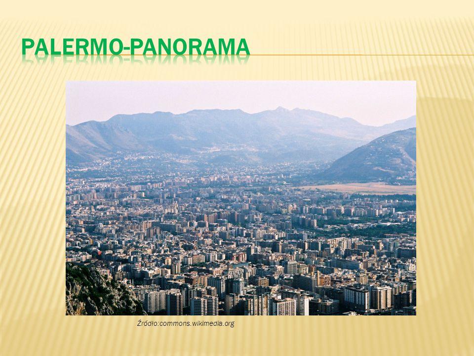 Palermo-panorama Źródło:commons.wikimedia.org