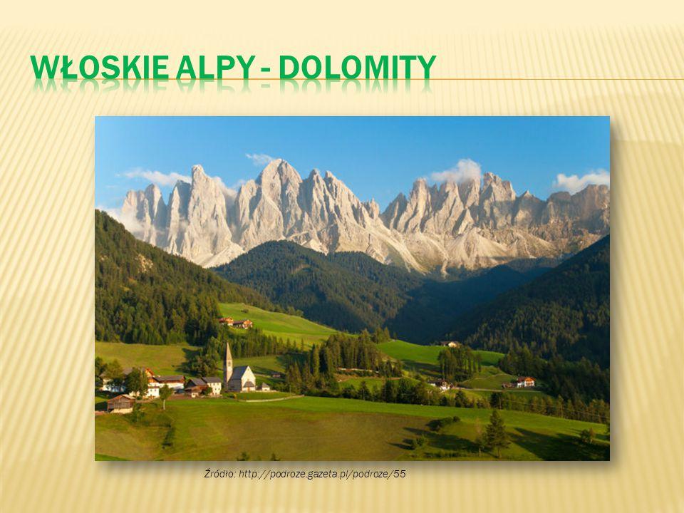 Włoskie Alpy - Dolomity