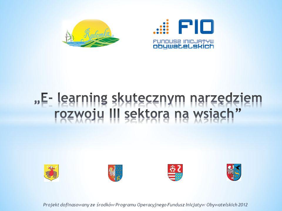 """""""E- learning skutecznym narzędziem rozwoju III sektora na wsiach"""