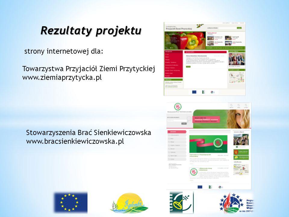 Rezultaty projektu strony internetowej dla: