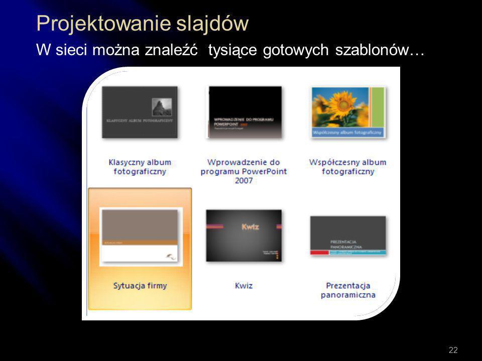 Projektowanie slajdów