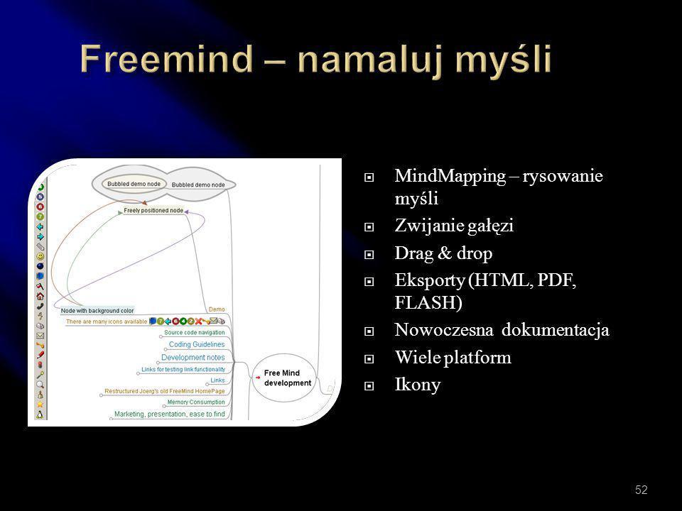 Freemind – namaluj myśli