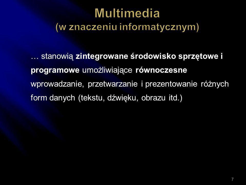 Multimedia (w znaczeniu informatycznym)