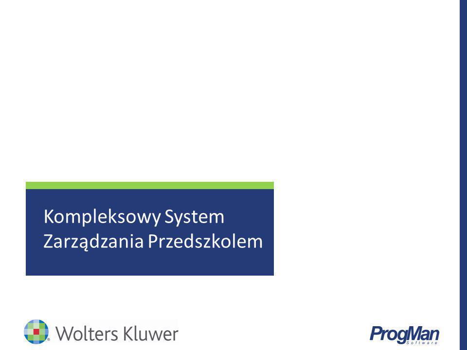 Kompleksowy System Zarządzania Przedszkolem
