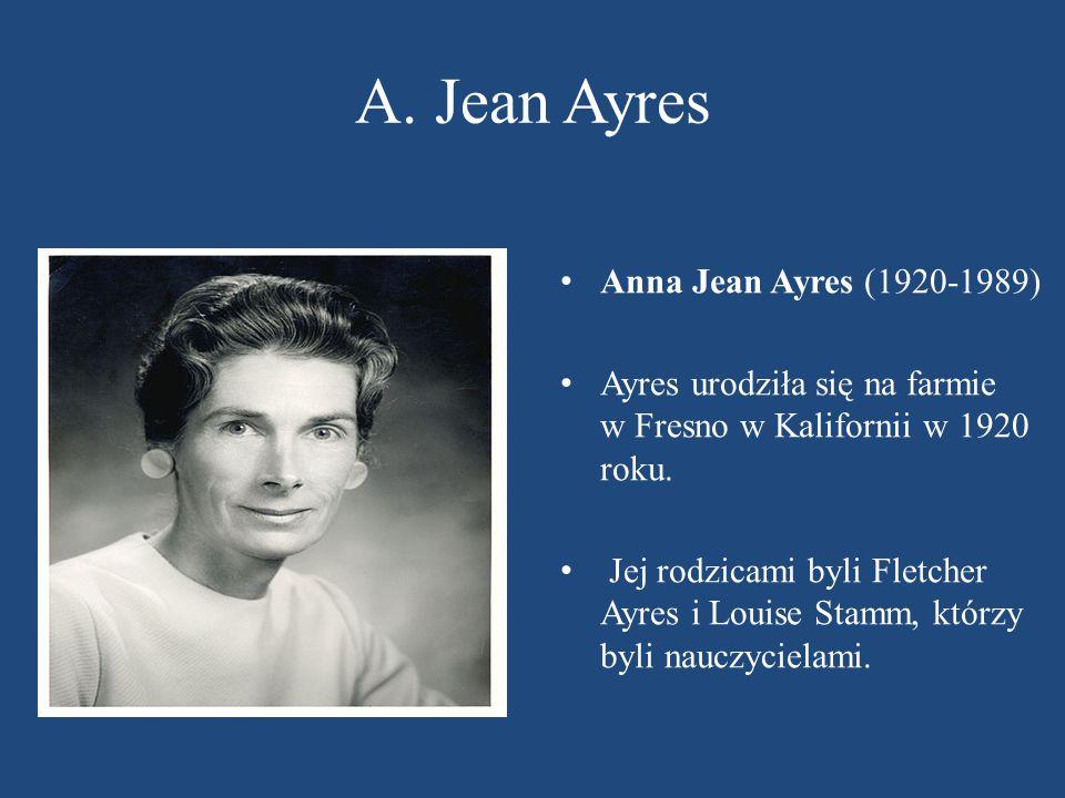 A. Jean Ayres Anna Jean Ayres (1920-1989)