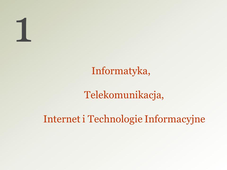 Informatyka, Telekomunikacja, Internet i Technologie Informacyjne