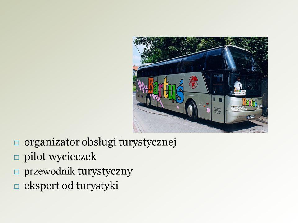 organizator obsługi turystycznej