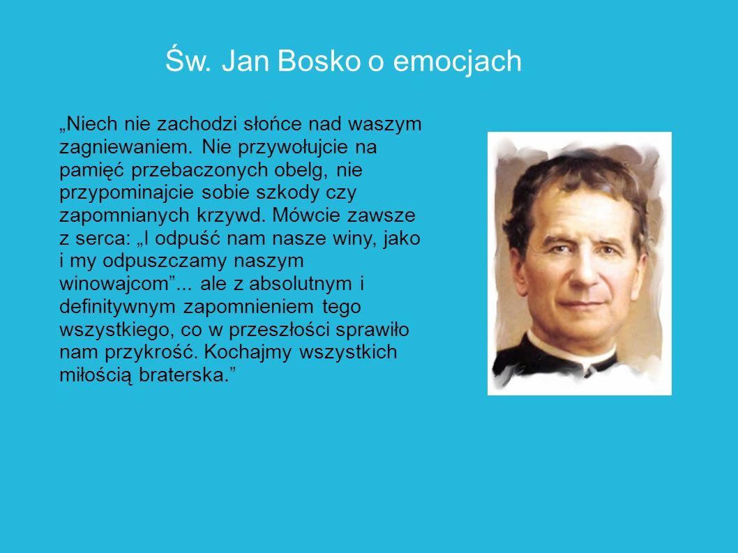 Św. Jan Bosko o emocjach