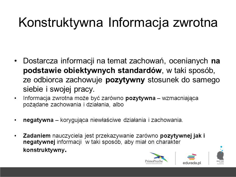 Konstruktywna Informacja zwrotna
