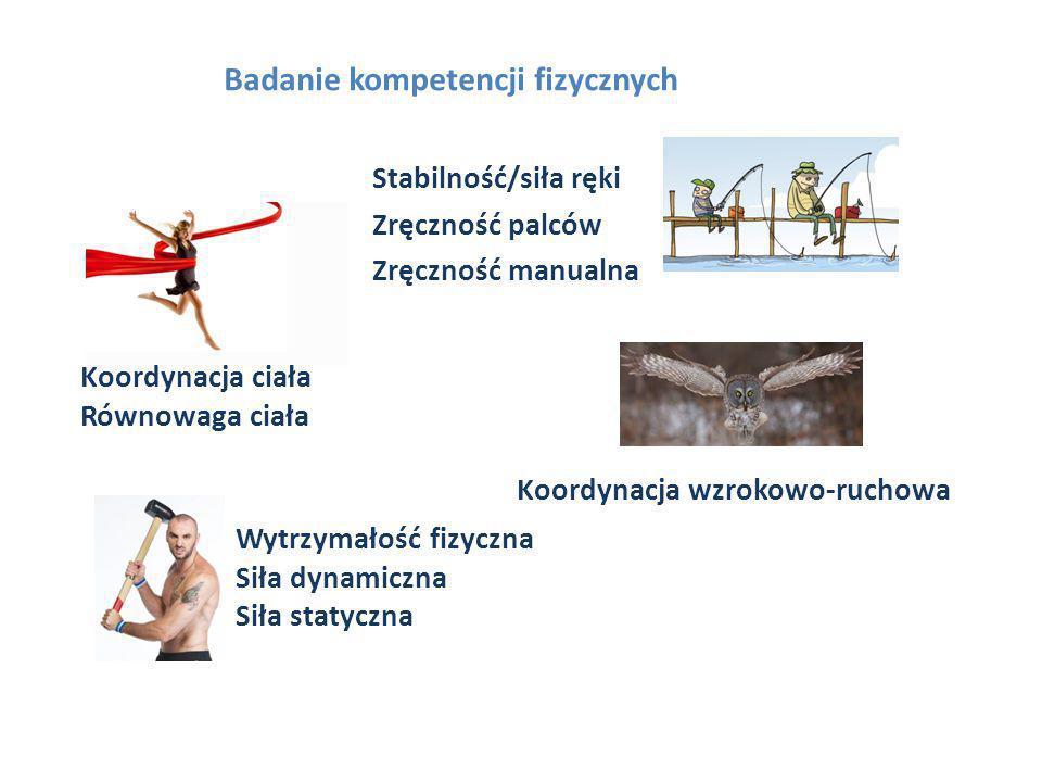 Badanie kompetencji fizycznych