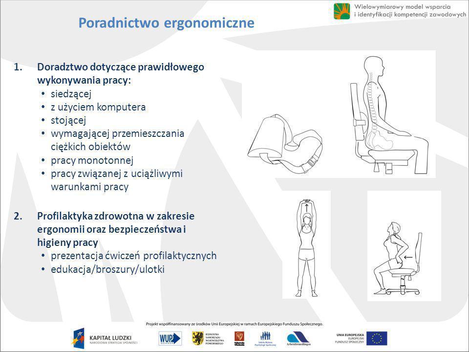 Poradnictwo ergonomiczne